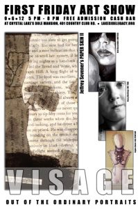 Visage Post Card - Jeffrey Sevener