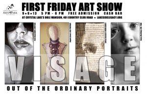 Visage Poster - Jeffrey Sevener, Nancy Merkling, Angela Swan, and Cole Hauschildt